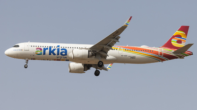 4X-AGK - Airbus A321-251NX - Arkia Israeli Airlines