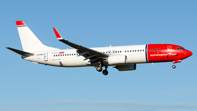 LN-ENM - Boeing 737-8JP - Norwegian