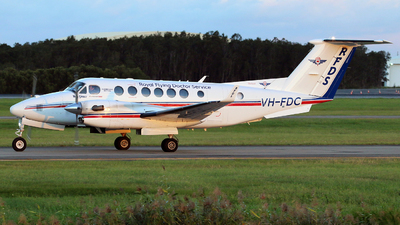 VH-FDC - Beechcraft B300C King Air 350C - Royal Flying Doctor Service of Australia (Queensland Section)
