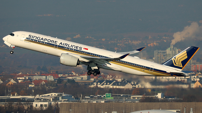 9V-SMQ - Airbus A350-941 - Singapore Airlines