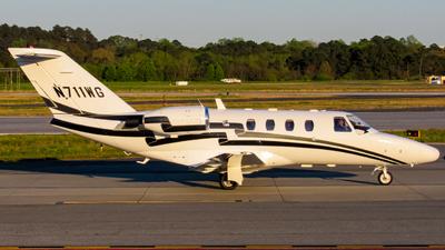N711WG - Cessna 525 CitationJet 1 - Private