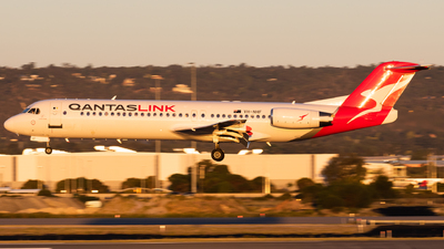 VH-NHF - Fokker 100 - QantasLink (Network Aviation)