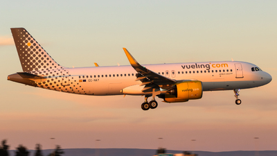 EC-NAY - Airbus A320-271N - Vueling Airlines