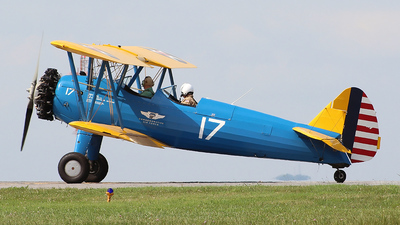 N4813V - Boeing E75 Stearman - Private