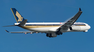 9V-SSI - Airbus A330-343 - Singapore Airlines