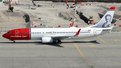 A picture of EIFHA - Boeing 7378JP - Norwegian - © Hugo Schwarzer