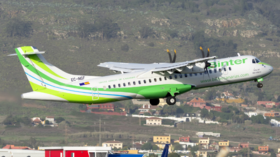 A picture of ECNGF - ATR 72600 - Binter Canarias - © Manuel EstevezR