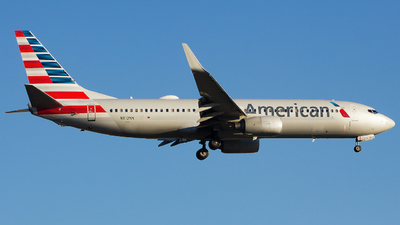 A picture of N812NN - Boeing 737823 - American Airlines - © Xiamen Air 849 Heavy