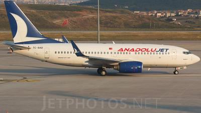 TC-SAD - Boeing 737-76N - AnadoluJet (SunExpress)