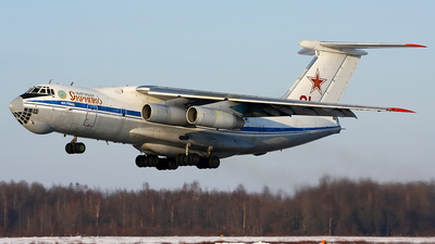 01 - Ilyushin IL-76MD - Russia - Air Force