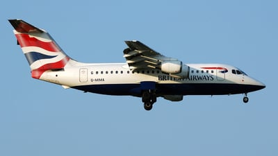 G-MIMA - British Aerospace BAe 146-200 - British Airways