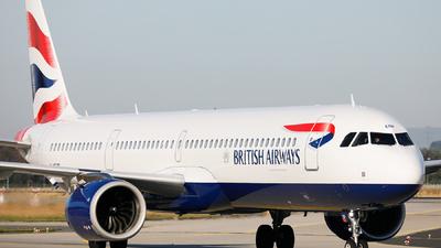 G-NEOP - Airbus A321-251NX - British Airways