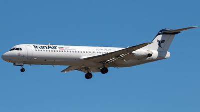 EP-IDG - Fokker 100 - Iran Air