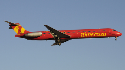 ZS-OPZ - McDonnell Douglas MD-83 - 1Time Airline
