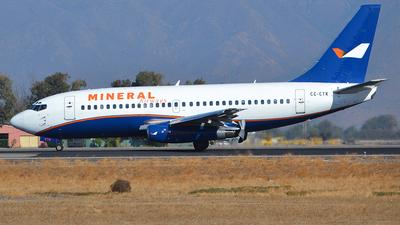 CC-CTK - Boeing 737-230(Adv) - Mineral Airways (Aerovías DAP)