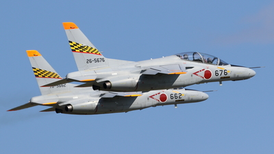 26-5676 - Kawasaki T-4 - Japan - Air Self Defence Force (JASDF)