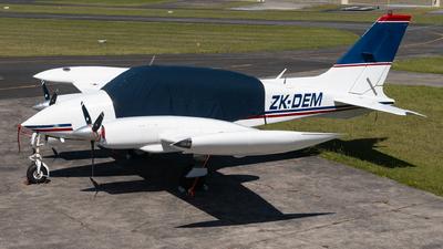 ZK-DEM - Cessna 310Q - Photo Survey