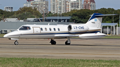 LV-CMO - Gates Learjet 35A - Private