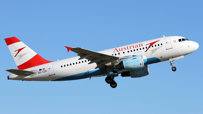 OE-LDC - Airbus A319-112 - Austrian Airlines (Tyrolean Airways)