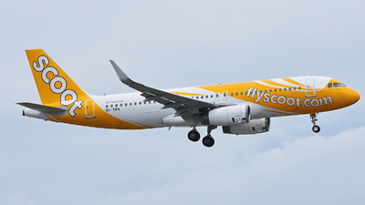 9V-TRN - Airbus A320-232 - Scoot