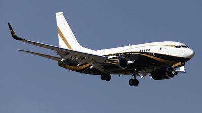 9H-GGG - Boeing 737-7Z5(BBJ) - Jet Aviation Flight Services (Malta)