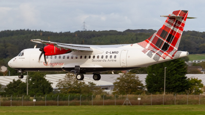A picture of GLMRD - ATR 42500 - Loganair - © Ethan Hew - p_nilly