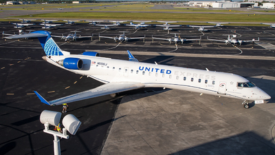 N551GJ - Bombardier CRJ-550 - United Express (GoJet Airlines)