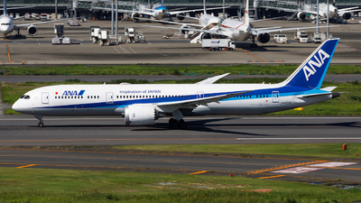 A picture of JA833A - Boeing 7879 Dreamliner - All Nippon Airways - © Age