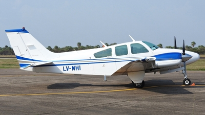 LV-MHI - Beechcraft 95-A55 Baron - Argentina - Government of the Province of Santiago del Estero
