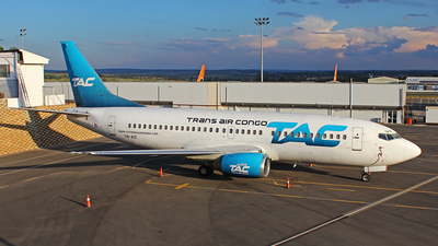A picture of TNAIZ - Boeing 73733A - Trans Air Congo - © Adrian Munro