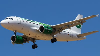 D-ASTU - Airbus A319-112 - Germania