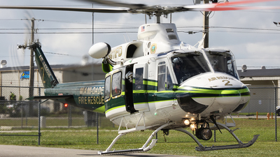 N911FD - Bell 412 - United States - Miami Dade Fire Rescue
