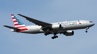 A picture of N773AN - Boeing 777223(ER) - American Airlines - © TPS00