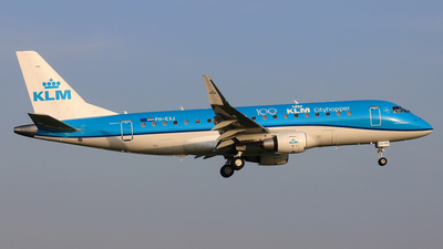 PH-EXJ - Embraer 170-200STD - KLM Cityhopper