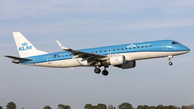 A picture of PHEZF - Embraer E190STD - KLM - © Kris Van Craenenbroeck