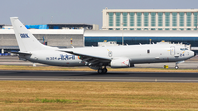 IN324 - Boeing P-8I Neptune - India - Navy