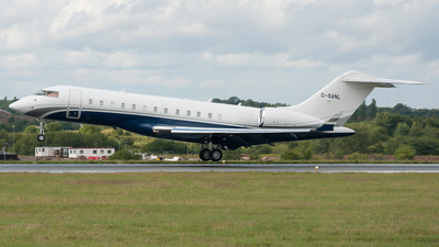 G-SANL - Bombardier BD-700-1A10 Global Express XRS - Sanctuary Aviation