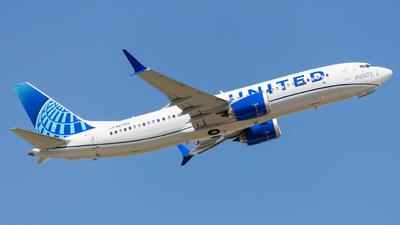 N27255 - Boeing 737-8 MAX - United Airlines