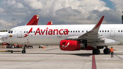 N725AV - Airbus A321-231 - Avianca
