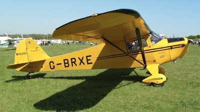 G-BRXE - Taylorcraft BC-12D - Private