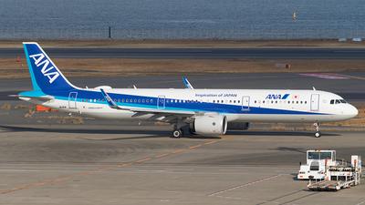 JA141A - Airbus A321-272N - All Nippon Airways (ANA)