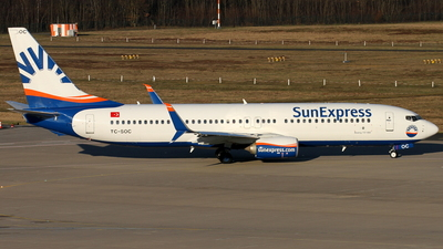 TC-SOC - Boeing 737-8HC - SunExpress