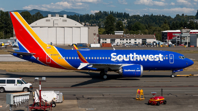 A picture of N7207Z - Boeing 737 MAX 7 - Southwest Airlines - © Chris Edwards