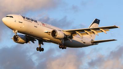 A picture of EPIBA - Airbus A300B4605R - Iran Air - © Jamie PD