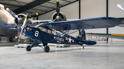 F-BEGU - Piper J-3C-65 Cub - Private