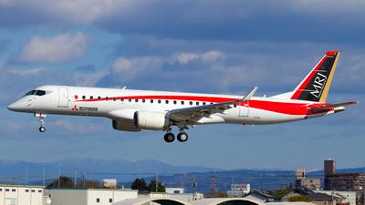 A picture of JA22MJ - Mitsubishi MRJ90STD - [10002] - © Shimizu Brothers