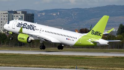 A picture of YLCSG - Airbus A220300 - Air Baltic - © Georgi Vatafov