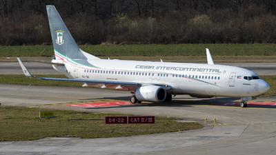 A picture of CSFAF - Boeing 7378FB - Ceiba Intercontinental - © Paul Denton