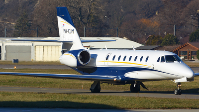PH-CJM - Cessna 680 Citation Sovereign - Air Service Liège (ASL)