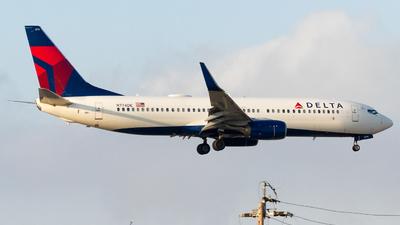 A picture of N774DE - Boeing 7378EH - Delta Air Lines - © Conor Clancy